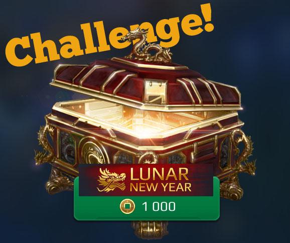 War Robots Lunar New Year Event, 1.000 Münzen Schatzkisten Challenge ...